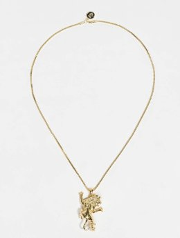 KING ICE Collana JUNGL JULZ Gold_Plated oro