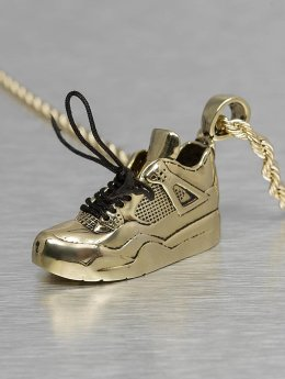 KING ICE Kette Air Sneaker goldfarben