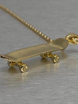 KING ICE Männer,Frauen Kette Solid Skateboard in goldfarben