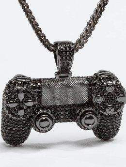 KING ICE Kette CZ Pro Gamer Controller schwarz