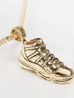 KING ICE Necklace Gold_Plated High Top gold colored