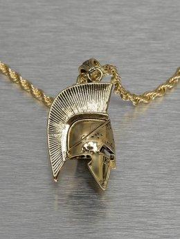KING ICE Retiazky Gladiator Helmet zlatá