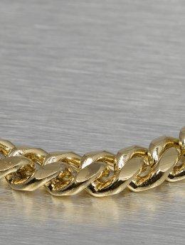 KING ICE Retiazky Miami Cuban Curb Chains zlatá
