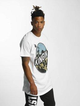 Kingin T-Shirt LA Streets weiß