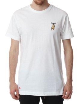 Kream T-skjorter Yzy Dance Tee hvit