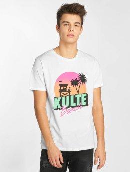 Kulte T-Shirt Kulte Beach blanc