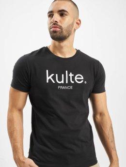 Kulte T-shirts Corpo sort