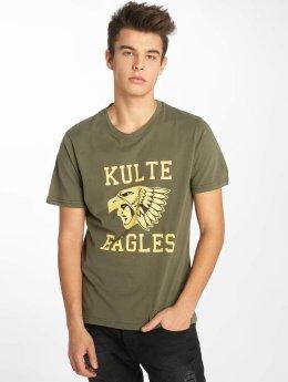 Kulte T-Shirty Eagles khaki