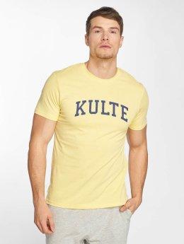 Kulte T-skjorter Corpo College gul