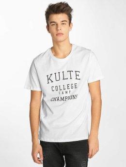 Kulte Tričká Corpo College Champion biela