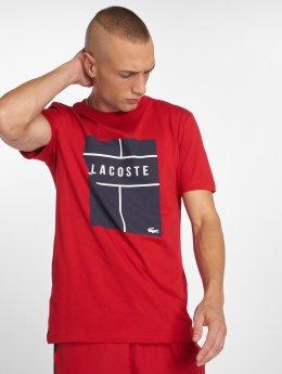 Lacoste Футболка Tennis красный