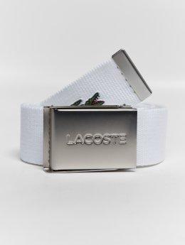 Lacoste Belt Basic white