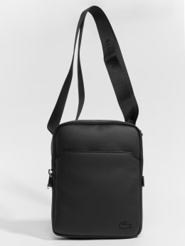 Lacoste Bolso Leather Crossover negro