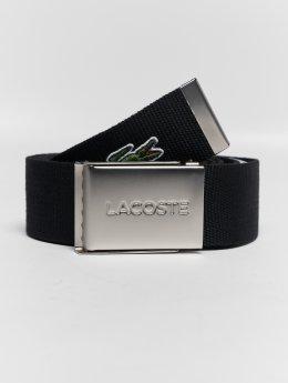 Lacoste Cinturón Basic negro