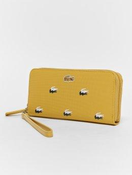 Lacoste Frauen Geldbeutel Wristlet in gelb