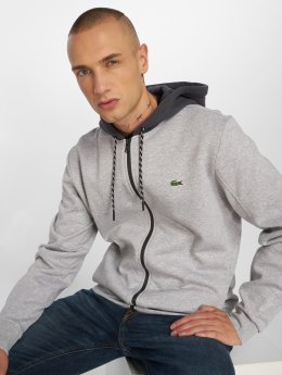 Lacoste Hoodies con zip Sport grigio