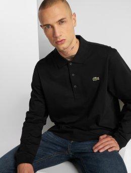Lacoste Poloshirt Long schwarz