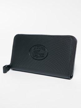 Lacoste portemonnee Classic L Zip zwart