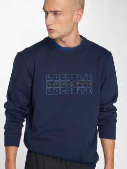 Lacoste Pullover Crew blau