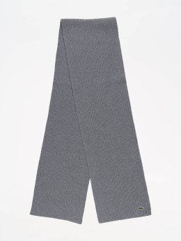 Lacoste Schal Knitted grau