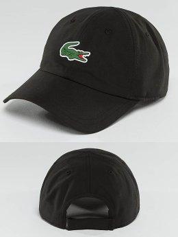 Lacoste Snapback Caps Logo czarny