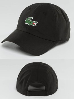 Lacoste Snapback Caps Logo svart