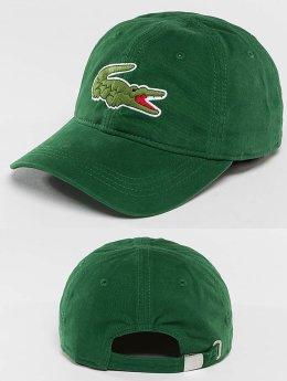 Lacoste Snapback Caps Logo vihreä