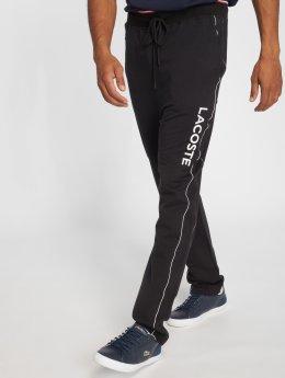 Lacoste Spodnie do joggingu Lounge czarny