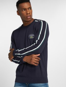 Lacoste Sweat & Pull Contrast bleu