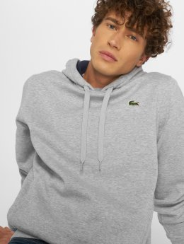 Lacoste Sweat capuche Basic gris