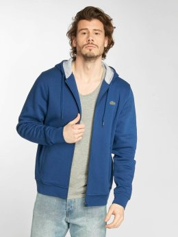 Lacoste Sweat capuche zippé Classic Zip bleu