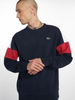 Lacoste Swetry Colorblock niebieski