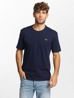 Lacoste t-shirt Clean blauw