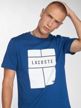 Lacoste t-shirt Tennis  blauw