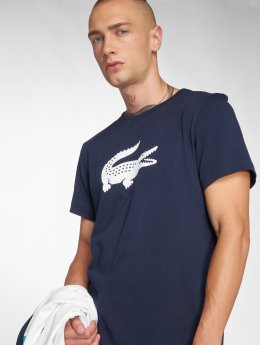 Lacoste T-Shirt Croco bleu