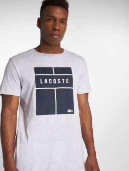 Lacoste T-Shirt Tennis grau