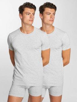 Lacoste T-shirt 2-Pack C/N grigio
