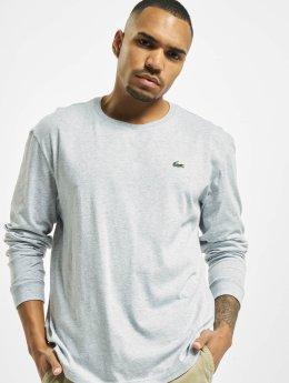 Lacoste T-Shirt manches longues Sport gris
