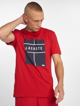 Lacoste t-shirt Tennis rood