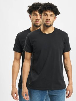 Lacoste T-shirts 2-Pack C/N sort