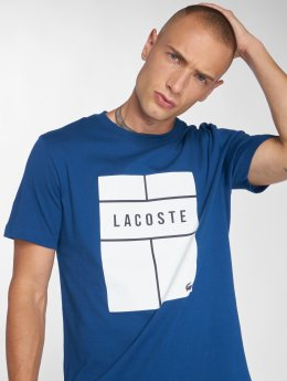 Lacoste T-skjorter Tennis blå