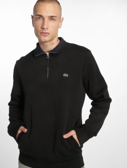 Lacoste trui Black/Navy zwart