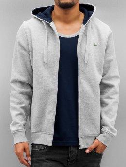 Lacoste Zip Hoodie Classic  grå