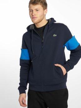 Lacoste Zip Hoodie Sport modrý