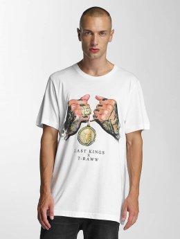 Last Kings T-shirt LK Rep bianco