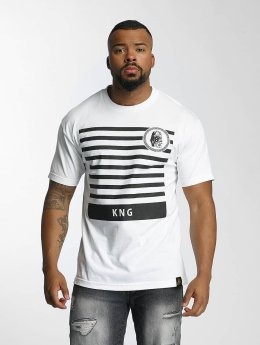 Last Kings t-shirt KNG wit