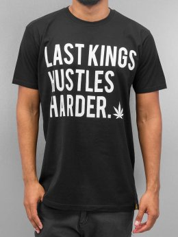 Last Kings t-shirt Hustle Hard zwart