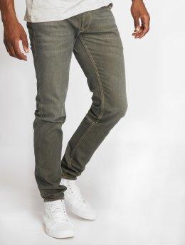 Le Temps Des Cerises Jeans straight fit 700/11 cachi