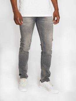 Le Temps Des Cerises Jeans straight fit 700/11 grigio
