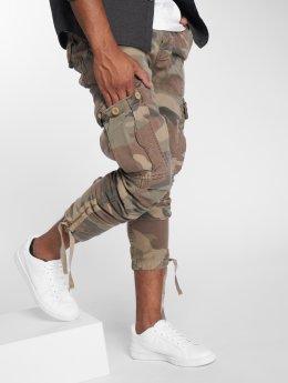 Le Temps Des Cerises Pantalon cargo Mirador camouflage